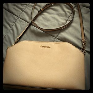Calvin Klein cross body purse medium size